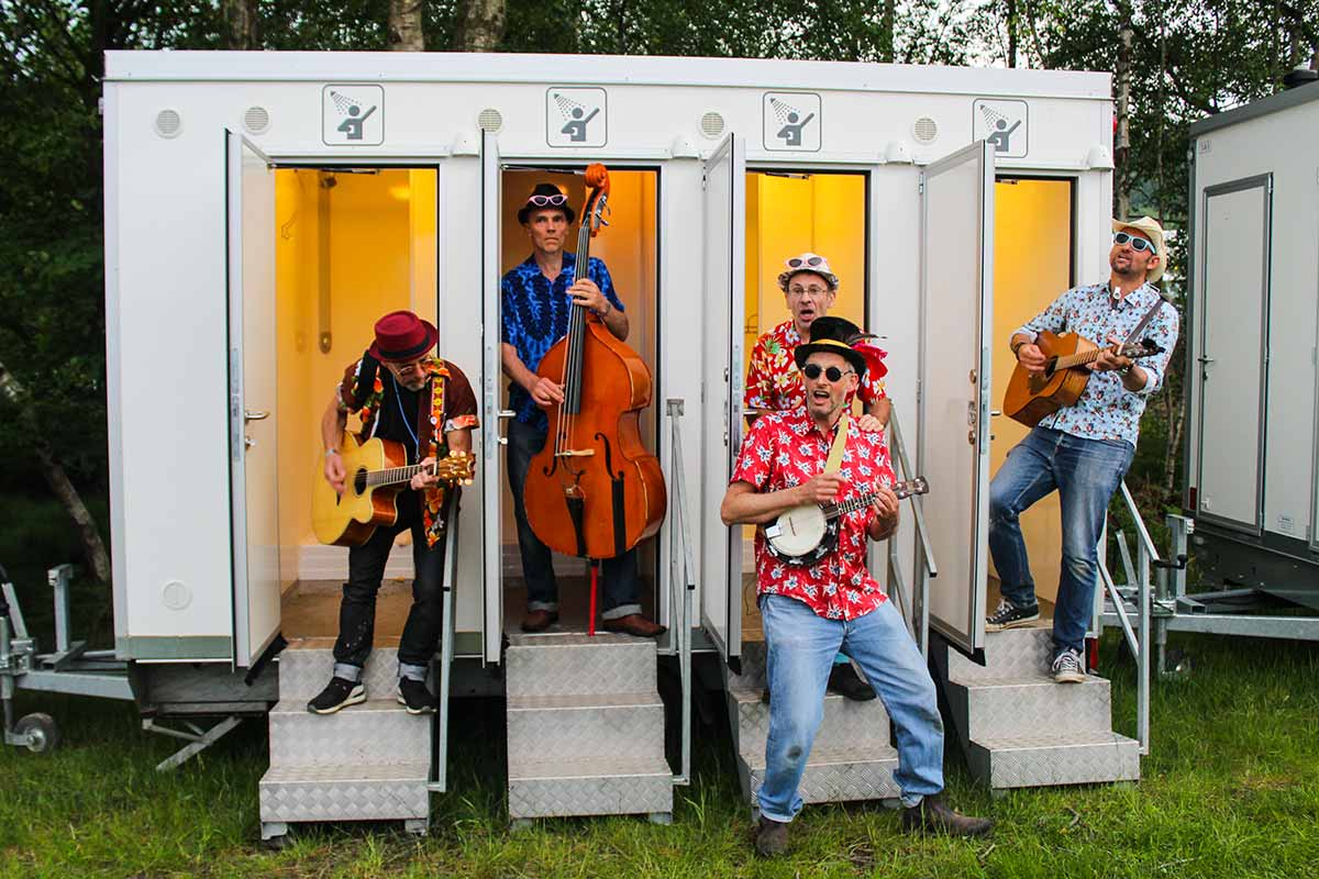 The Magnificent Kevens Walkabout Festival Busking Band image